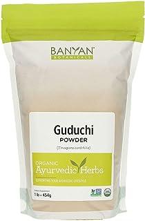 Banyan Botanicals Guduchi Stem Powder - USDA Organic, 1 Pound - Rejuvenating Herb for Digestion, Complexion, and Vitality*