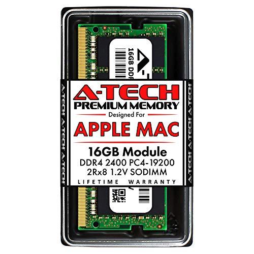 A-Tech 16GB RAM for Apple iMac 2017 (27 inch Retina 5K & 21.5 inch Retina 4K) | DDR4 2400MHz SODIMM PC4-19200 2Rx8 1.2V 260-Pin SO-DIMM Memory Upgrade Module