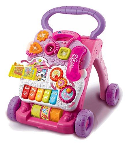 VTech Baby - Correpasillos andandín 2 en 1, andador de bebé interactivo, centro de actividades extraíble, múltiples funciones y regulador de velocidad (80-077057)
