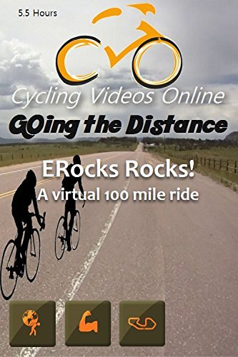 ERock Rocks! A Virtual 100 Mile Ride. Indoor Cycling Training / Spinning Fitness and Workout Videos by None