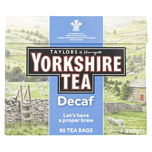 Taylors of Harrogate Yorkshire Tea Decaffeinated 80 Btl. 250g