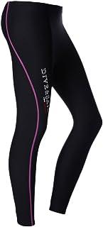 Sharplace Pantalones Largo de Neopreno 1.5mm Fino Caliente Elástico para Buceo Deporte de Agua