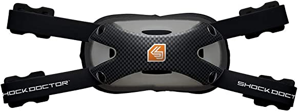 Shock Doctor Ultra Carbon Chin Strap for Football.