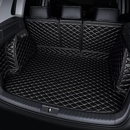 Tailored Cobertura Total Cuero Maletero Alfombrillas Protectoras para Hyundai Sonata 2010-2014 Accesorios Interiores AutomóViles Alfombra Impermeable AntiarañAzos Negro