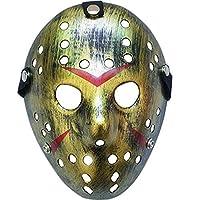 🎃 Die Boolavard Halloween-Maske besteht aus umweltfreundlichem PVC und ist ungiftig, ohne den Körper zu schädigen. Dies ist eine wirklich erstaunliche Maske zu diesem günstigen Preis! 🎃 Komfortabel und atmungsaktiv. Bleiben Sie sicher mit freier Sich...