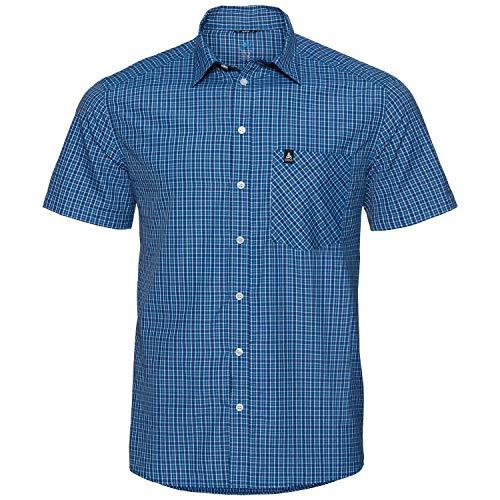 Odlo T-Shirt S/S View Chemise S Seaport - Algiers Blue