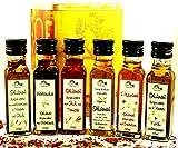 Olivenöl - Spezialitäten 6 x 100ml in der Dekodose von Finca Marina
