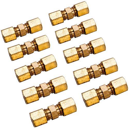 maXpeedingrods 10 Stück Bremsleitungsverbinder für Bremsleitung 4,75mm ohne zu bördeln Verbinder