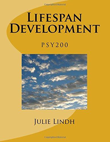 PSY 200 Lifespan Development - Lindh