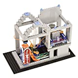 Snap Circuits BRIC: Structures   Brick & Electronics Exploration Kit   Over 20 Stem & Brick Projects   Full Color Project Manual   20 Parts   75 BRIC-2-Snap Adapters   140+ BRICs
