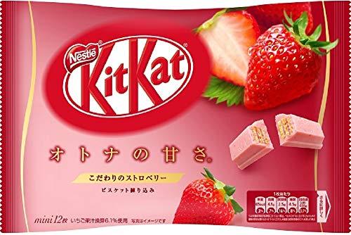 Kit kat chocolate strawberry 12 bars 1 bags Japan import