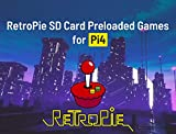 Retropie Gaming Console ROMs v4.6 256GB microSD Card Preloaded Games for Raspberry Pi 4 Kit (Pi4), Retropie Emulation Console Plug & Play Fully Loaded Game System Compatible with Xbox/PS1 Controller