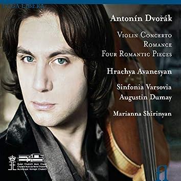 Dvořák: Violin Concerto, Romance & Four Romantic Pieces