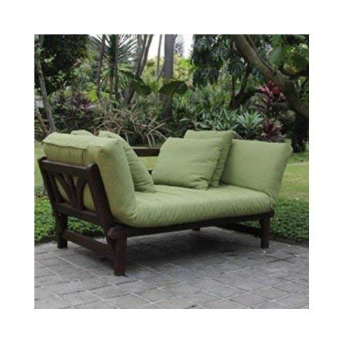 Amazon.com : Studio Outdoor Converting Patio Furniture Sofa, Couch ...