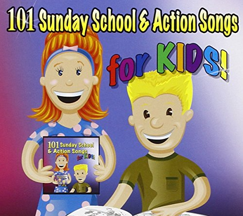 101 Sunday School & Actions Songs for Kids!
