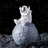 GOOCO Resina Astronauta Hucha decoración del hogar decoración Hucha Cerdito Astronauta niños niños niñas Hucha Decoración de Escritorio Moneda Banco Regalos para
