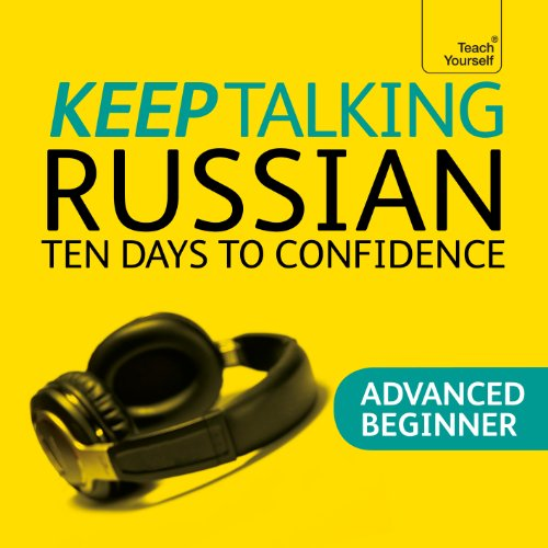 Keep Talking Russian audiobook cover art