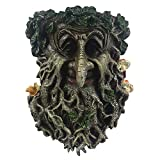 BSBJJ Halloween Old Man Tree Face Sculpture, Whimsical Tree Hugger Sculpture - Suitable to Outdoor & Garden Decor
