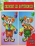 Cherche les différences Pour enfants 3-9 ans: Jeux des différences, Livre de jeux pour les enfants colorie, cherche et trouve les différences