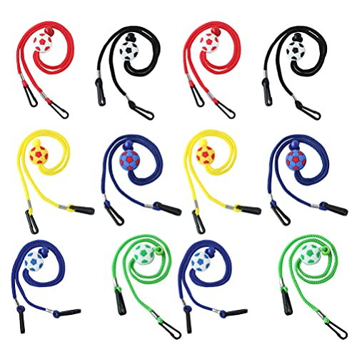 Scicalife 12 Piezas de Cadena de Gafas Deportivas Soporte para Gafas Cordón Ajustable Sujetadores de Gafas Antideslizantes para Leer Cadena Collar Cuerda para Hombres Mujeres Niños