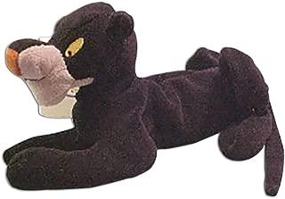 Disney Store Bean Bag Plush Jungle Book's Bagheera Black Panther Stuffed Animal