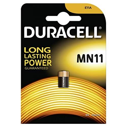 Duracell spezielle Einweg-Batterie MN11 Alkaline Blister von 1,6 V, Alkaline