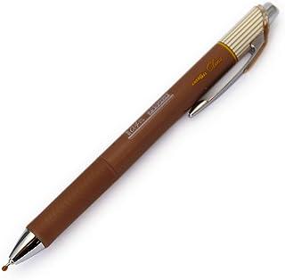 ぺんてる エナージェルクレナ インク/ブラウン 0.4mm〈極細〉ニードルチップ BLN74L-E 本体サイズ:16x11x147mm/13g