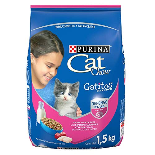 leche para cachorros de un mes fabricante Cat Chow