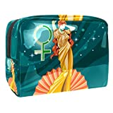 Greek Goddess Aphrodite Small Makeup Bag PVC Make Up Tools Organizer Bags