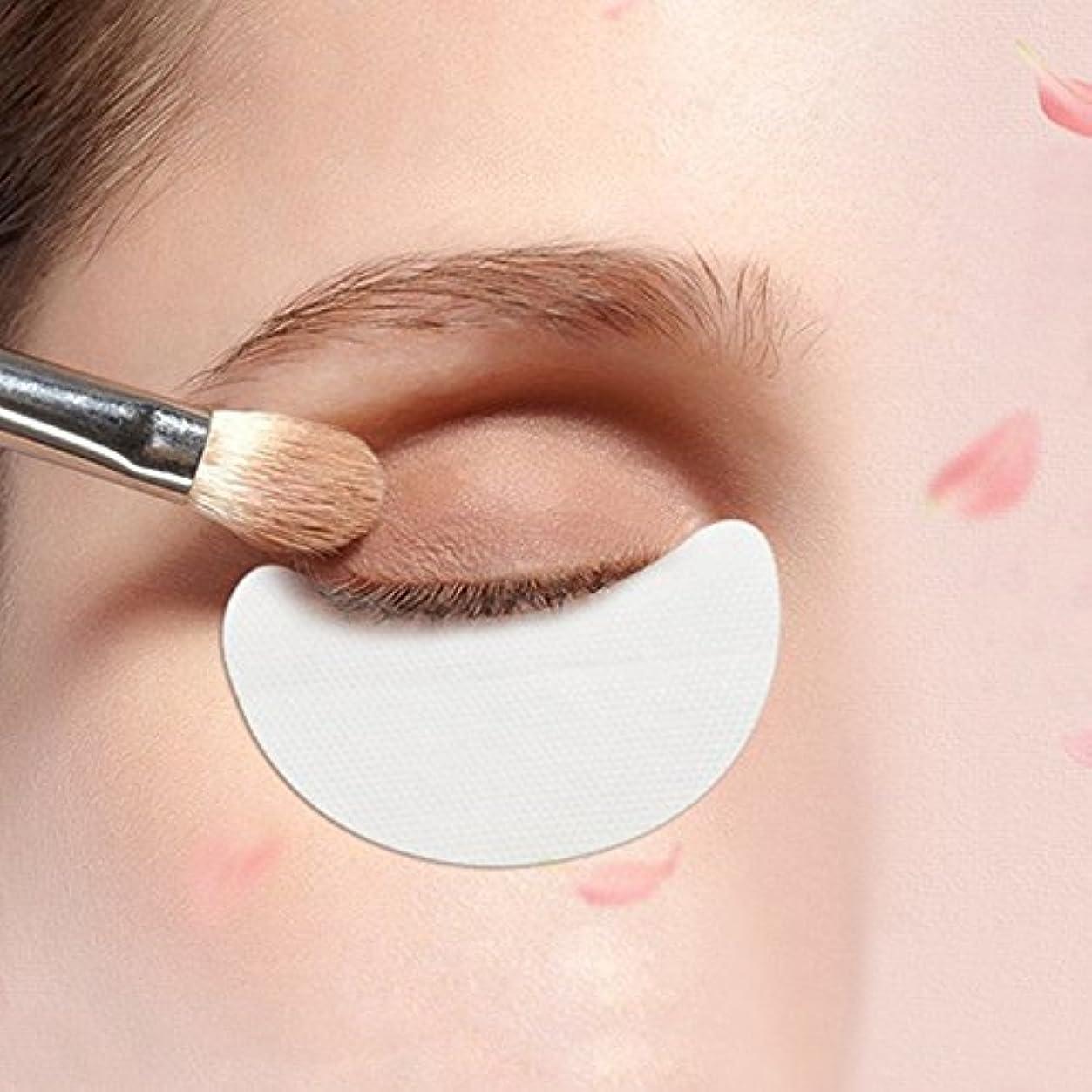 専門知識巨大側MSmask 10Pcs/Set Eyeshadow Pad Tablet Isolation Portable Beauty Women Girls Makeup