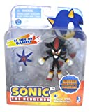 Sonic Shadow 3' Action Figure with Accessory