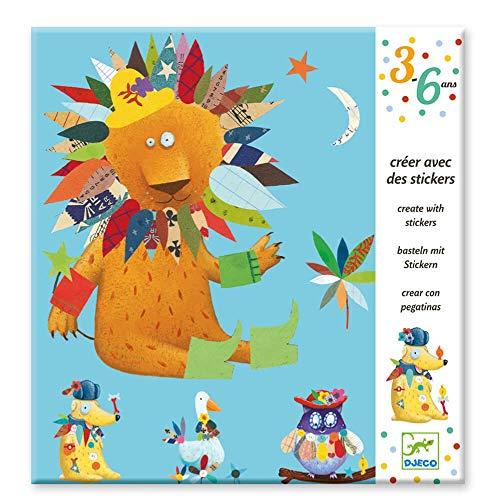 Djeco- Juegos de Acción Y Reflejos, Multicolor (100)
