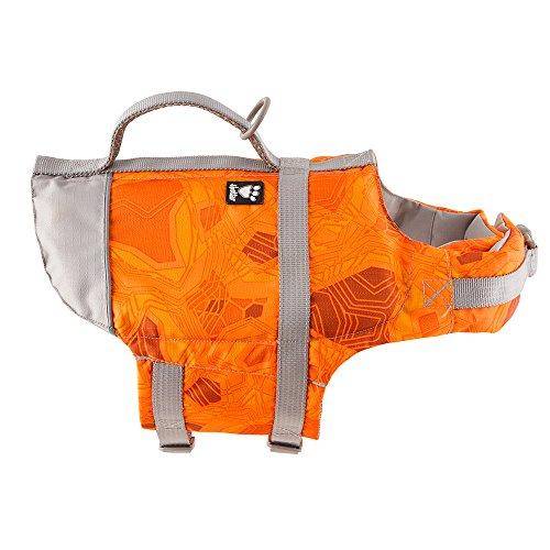 Hurtta Schwimmweste für Hunde, Orange Camouflage, Größe 0 für Hunde, Orange Camouflage, Größe XS