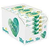 foto Pampers Coconut Pure - Toallitas húmedas (18 paquetes, 4,52 kg)
