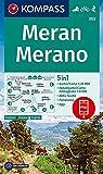 KOMPASS Wanderkarte Meran, Merano: 5in1 Wanderkarte 1:25000 mit Panorama, Stadtplan und Aktiv Guide inklusive Karte zur offline Verwendung in der ... Skitouren. (KOMPASS-Wanderkarten, Band 53)