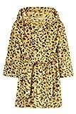 ADUKIDE Albornoz Niño 6 Años Niñas Con Capucha Batas Suave Pijamas Ropa De Dormir Leopardo (110)