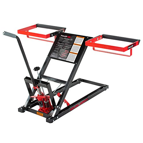 Pro Lift T-5305 Lawn Mower Lift with Hydraulic Jack for Riding Tractors...