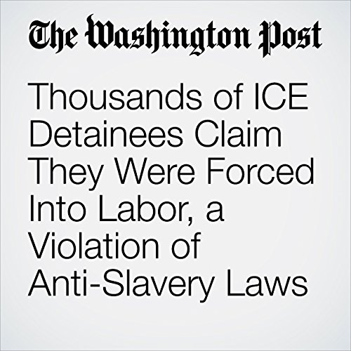 Thousands of ICE Detainees Claim They Were Forced Into Labor, a Violation of Anti-Slavery Laws copertina