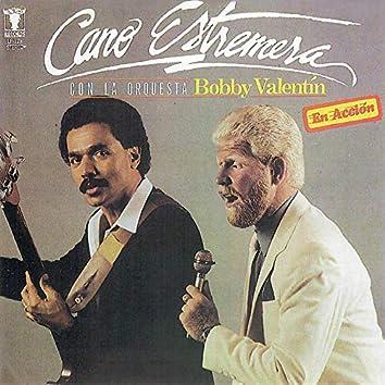 Cano Estremera Con La Orquesta Bobby Valentin En Acción