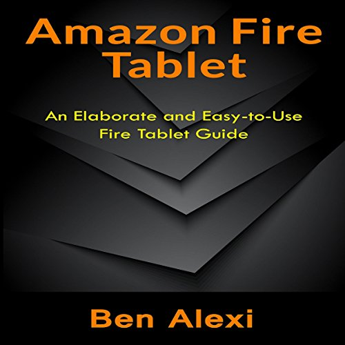 Amazon Fire Tablet audiobook cover art