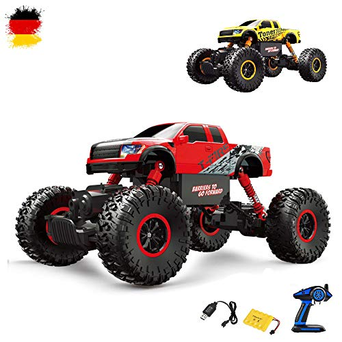 2,4 GHz RC, Off Road Monster Truck veicolo, Crawler, scala 1: 16 con 4 WD, camion, auto, car, Set Completo