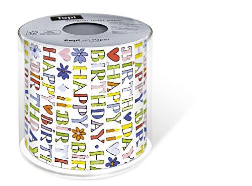 Toilettenpapier Rolle bedruckt Motiv Auswahl möglich Happy Birthday