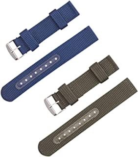 Hemobllo Compatible for Samsung Watch Band Replacement Wristband Strap Nylon Watch Belt Compatible with Samsung Smart Watc...