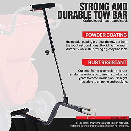 Universal PRO Heavy Duty Adjustable Chipper Shredder Tow Bar Kit