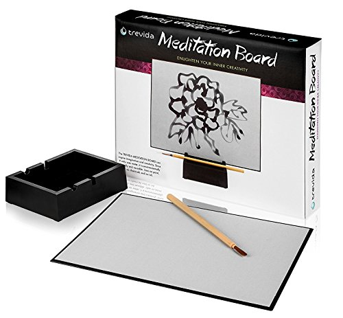 Trevida Premium Meditation Board: Soothing Water Drawing Buddha Board for Relaxation and...