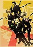 danyangshop Hunter X Hunter, Pegatinas De Pared Decorativas De Estilo Retro Japonés, Populares Impresiones De Pared para Habitación De Niños Y Familias, Material De Lienzo W-3022 (40X60Cm) Sin Marco