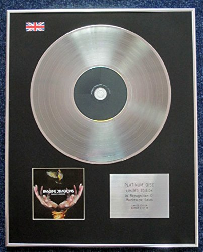 Imagine Dragons–Limited Edition CD Platinum LP Disc–Smoke + specchi