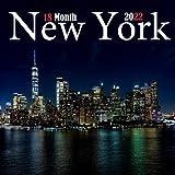 New York 18 Month 2022: Calendar 2022, Wall & Office Calendar 2022-2023 Size 8.5 x 8.5 Inch,18 Month Calendar 2022 For Women, Men, Kids & New york Lovers