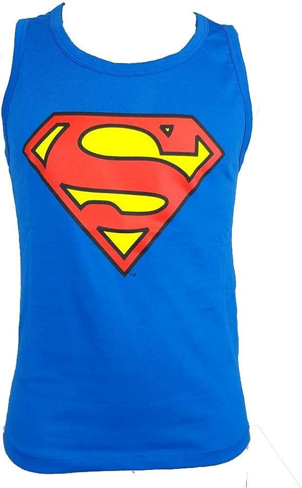 Tank top t-Shirt Original Superman Official Product boy Shirt Boy Logo