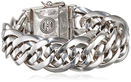 Boeddha naar Boeddha Unisex 925 sterling zilveren Nathalie armband van lengte 19 cm - Small